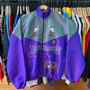VTG D-y-l-a-n Windbreaker OS surfstyle vibes